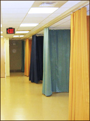 acoustical curtains laboratory tested