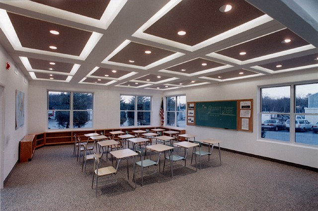 Ceiling Panels for Schools