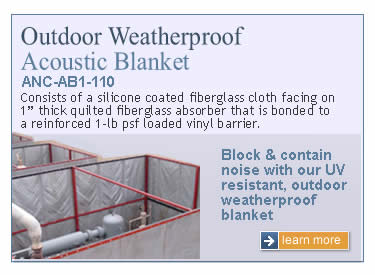 Noise Control Blankets Sound Curtain Systems 561 964 9360