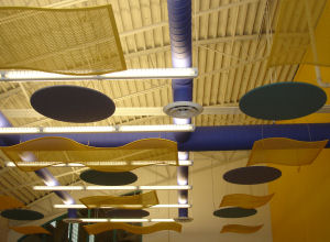 Sound Absorbing Ceiling Clouds